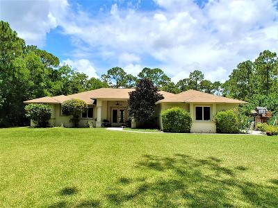 Jupiter Single Family Home For Sale: 15143 118th Trail