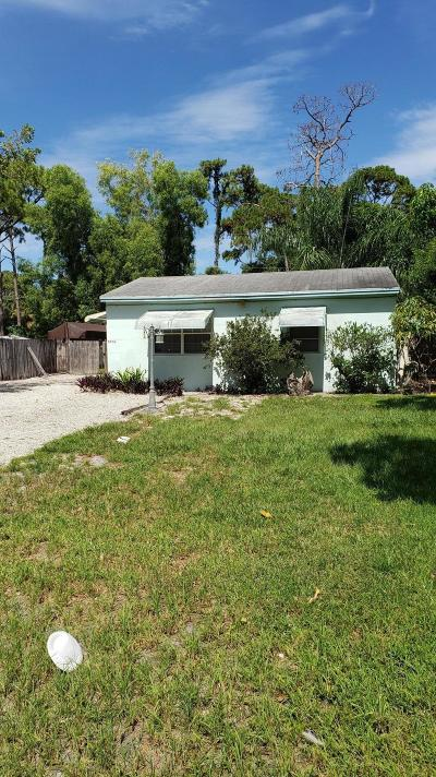 Lake Worth Single Family Home For Sale: 4450 47th Avenue S