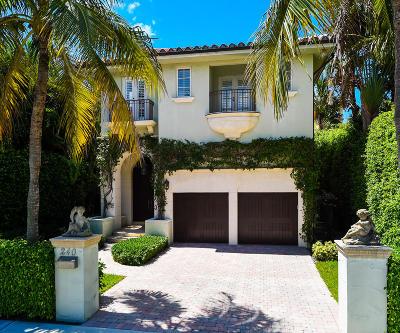 Palm Beach Single Family Home For Sale: 240 Seminole Avenue