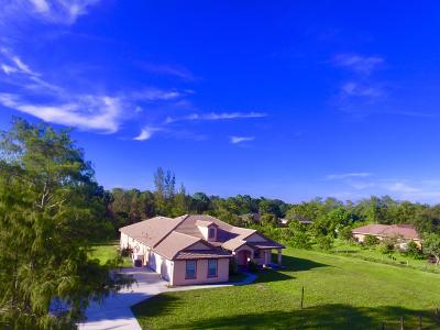 Loxahatchee Single Family Home For Sale: 17393 Orange Boulevard