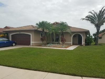 Boynton Beach Single Family Home For Sale: 5110 Brian Boulevard
