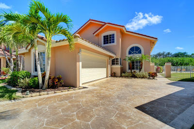 Boca Raton Single Family Home For Sale: 11244 Jasmine Hill Circle