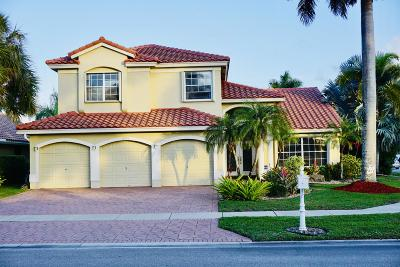 Boca Raton Single Family Home For Sale: 19386 Ocean Grande Court