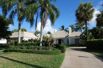 North Palm Beach FL Single Family Home For Sale: $3,200,000