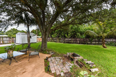 Hobe Sound Single Family Home For Sale: 6204 SE Orange Blossom Trail