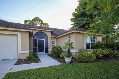 Wellington Single Family Home For Sale: 1431 Hideaway Bend