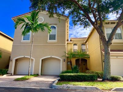 Palm Beach Gardens Townhouse For Sale: 4991 Bonsai Circle #107