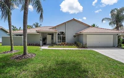Jupiter Single Family Home For Sale: 18294 Lake Bend Drive