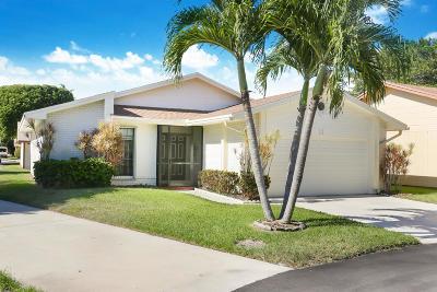 Boynton Beach Single Family Home For Sale: 11 Afton Place