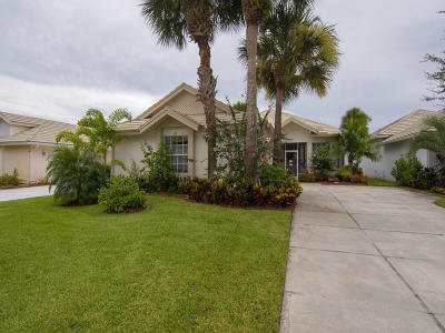St Lucie County Single Family Home For Sale: 9408 Poinciana Court
