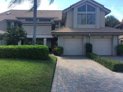 Boca West Single Family Home Contingent: 19855 Planters Boulevard #D