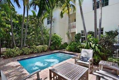Delray Beach Townhouse For Sale: 1012 Bay Street