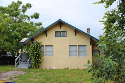 Fort Pierce Single Family Home For Sale: 123 14th Street