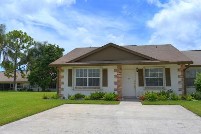 Jupiter Single Family Home For Sale: 112 Doe Trail