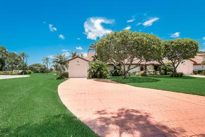 Lake Worth Single Family Home For Sale: 5418 San Marino Way