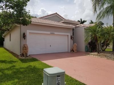 Boynton Beach Single Family Home For Sale: 10823 Fillmore Drive
