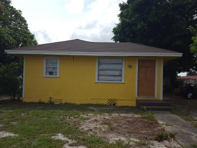 Lake Worth Single Family Home For Sale: 1512 S K Lane