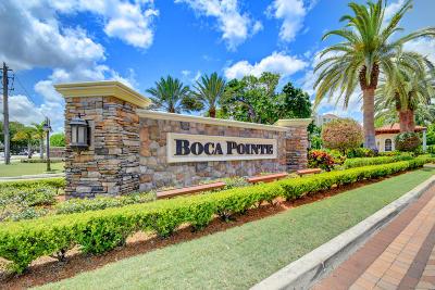 Boca Raton Condo For Sale: 7658 Elmridge Drive #18 L