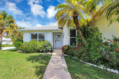 Fort Pierce Single Family Home For Sale: 6800 Picante Circle