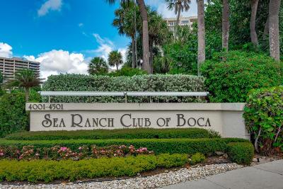 Boca Raton Condo For Sale: 4001 Ocean Boulevard #206