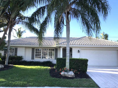 Boca Raton Single Family Home For Sale: 1390 SW 7th Street