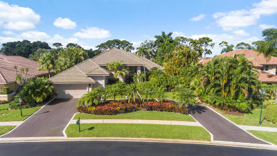 Boca Raton Single Family Home For Sale: 17858 Deauville Lane