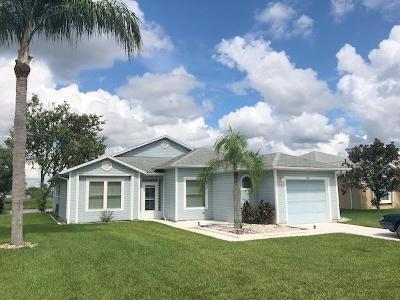 Fort Pierce Single Family Home Contingent: 5867 Travelers Way