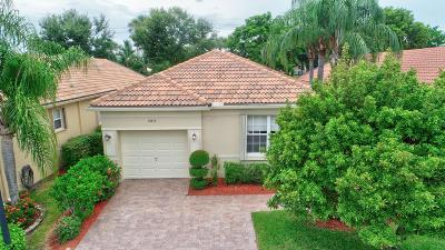 Delray Beach FL Single Family Home For Sale: $335,000