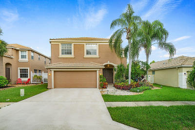 Royal Palm Beach Single Family Home For Sale: 3017 Rockville Lane