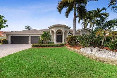 Boynton Beach Single Family Home Contingent: 4779 Bucida Road