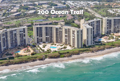 Jupiter Condo For Sale: 200 Ocean Trail Way #508