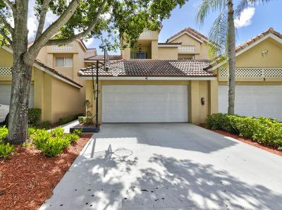 Boca Raton Townhouse For Sale: 23104 Island View #4