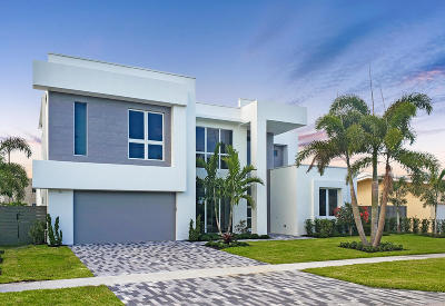Delray Beach Single Family Home For Sale: 222 NW 18th Street