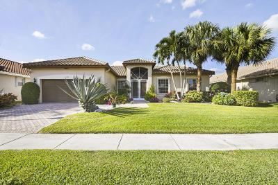 Boynton Beach Single Family Home For Sale: 6723 Chimere Terrace