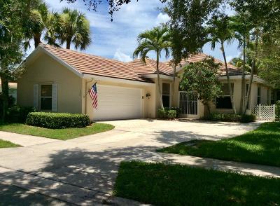 Jupiter Single Family Home For Sale: 130 E Hampton Way