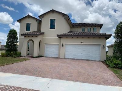 Royal Palm Beach Single Family Home For Sale: 1406 Whitcombe Drive