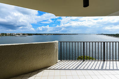 West Palm Beach Condo For Sale: 1200 S Flagler Drive #803