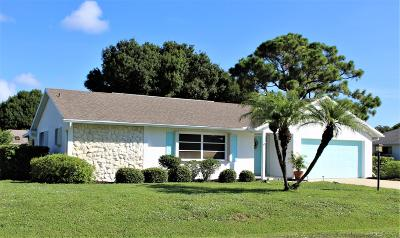Fort Pierce Single Family Home For Sale: 5601 Eagle Drive