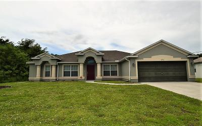 Port Saint Lucie Single Family Home Contingent: 4590 SW Tabor Street
