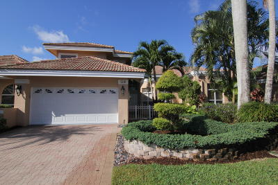 Boca Raton Single Family Home For Sale: 5218 Windsor Parke Drive