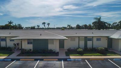 West Palm Beach Condo For Sale: 2915 Crosley Drive W #J