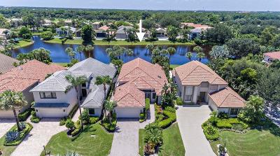 Palm Beach Gardens Single Family Home For Sale: 13323 Deauville Drive