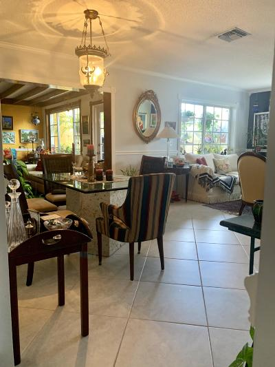Delray Beach FL Single Family Home For Sale: $199,500