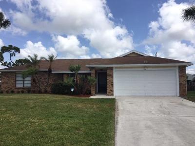 Port Saint Lucie Single Family Home For Sale: 667 SW Sandbar Terrace