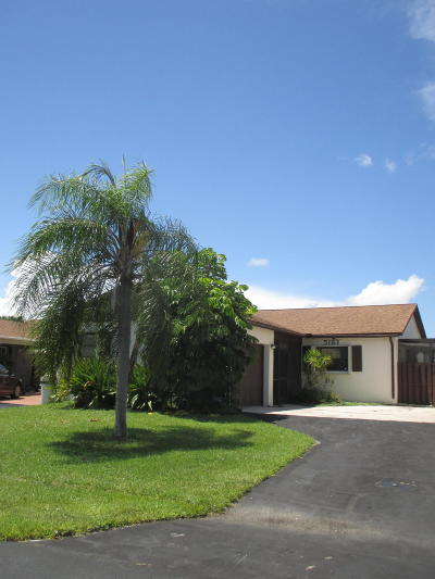 Boynton Beach Single Family Home Contingent: 5183 Minto Road