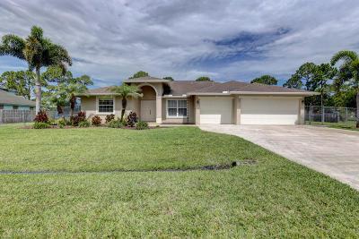 St Lucie County Single Family Home For Sale: 3226 SW Esperanto Street