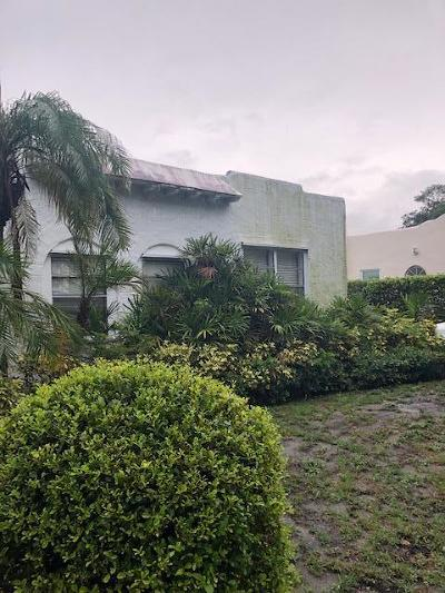 West Palm Beach Single Family Home For Sale: 812 Avon Road