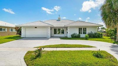 Boca Raton Single Family Home For Sale: 1356 Cypress Way
