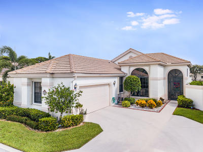 Boynton Beach Single Family Home Contingent: 10165 Lexington Lakes Boulevard