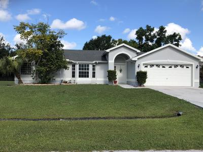 Port Saint Lucie Single Family Home For Sale: 6507 NW Chugwater Circle